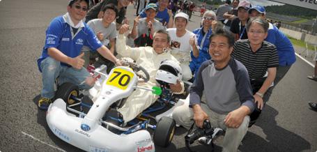 スポーツカートの参加者